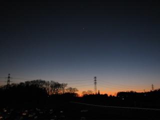 昼と夜の境