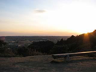 太東崎灯台から岬町を見下ろす