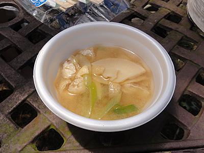 たけのこツーリング/たけのこ味噌汁