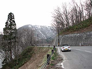 会津磐梯・喜多方ツーリング/檜原湖の周回道路をツーリング