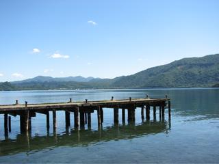 十和田湖/桟橋